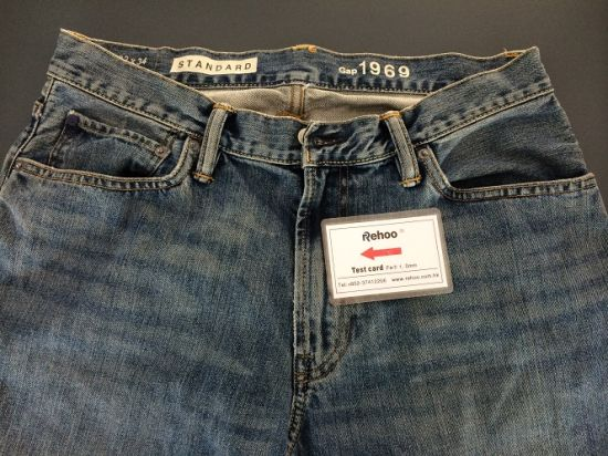 Jean Fabric/Close-Fitting Pants Needle Detector pictures & photos