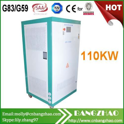 110kw AC Pump Drives Solar Power Inverter with MPPT400-800VDC pictures & photos