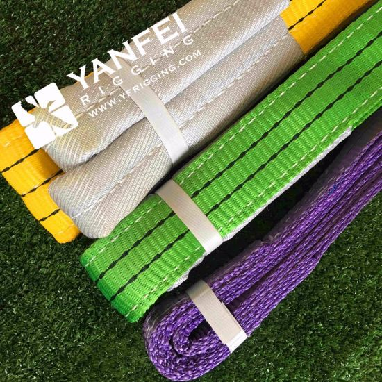 En1492-1 Heavy Duty Polyester Webbing Sling pictures & photos