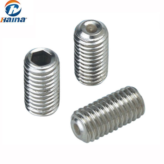 M4-.7 X 20 Socket Set Screw Cup Point A2 Stainless Steel