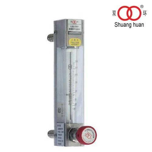 Measure Corrosive Water or Air with Adjustable Valve Dn4 Glass Tube Flow Meter