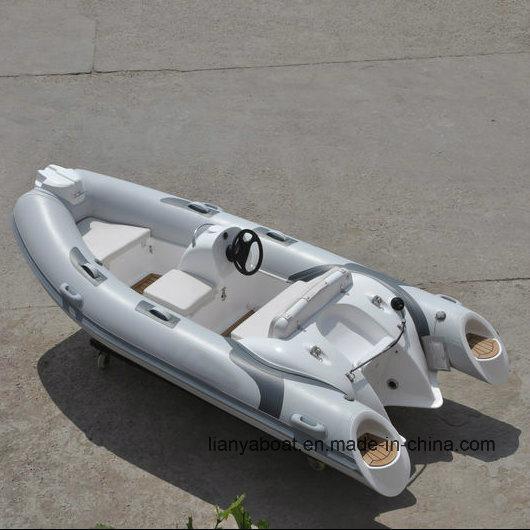 China Liya 3 8m Hypalon Material Rib Boat Inflatable Boats