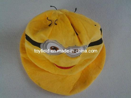 Hat Cap Yellow Cartoon Winter Animals Cap Plush Hat