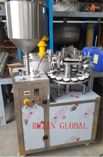 Semi Automatic Filling Sealing Machine for Ointment Cream pictures & photos