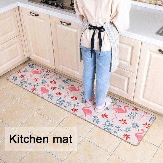 Popular Manufacture Linen Carpet Indoor Mats Anti-Slip Mats
