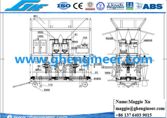 Automatic Fertilizer Filling Bagging and Weighing Machine pictures & photos