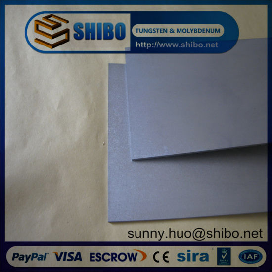 China Manufacturer Tungsten Plates/Sheets Used in Sapphire Growing Furnace pictures & photos