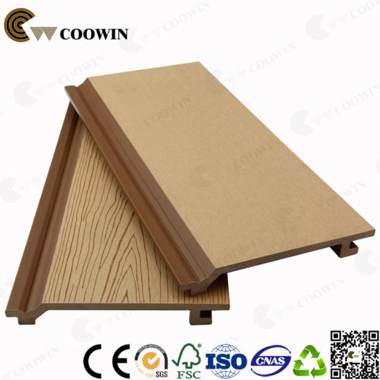 China Factory Price Exterior Wood Plastic Composite Decorative Wall ...