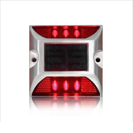 Red Flashing Light Solar Led Road Stud