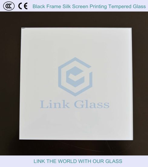Silk Screen Printing Toughened Panel Sheet Glass for Cabinet pictures & photos