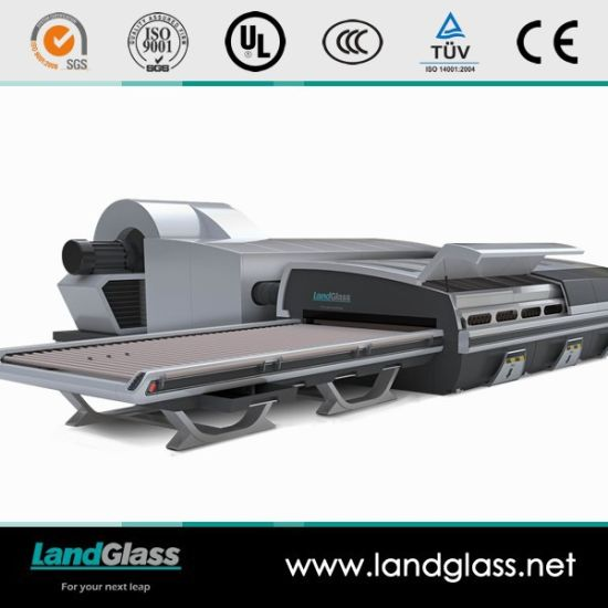 Landglass Force Convection Glass Tempering Furnace Plant pictures & photos