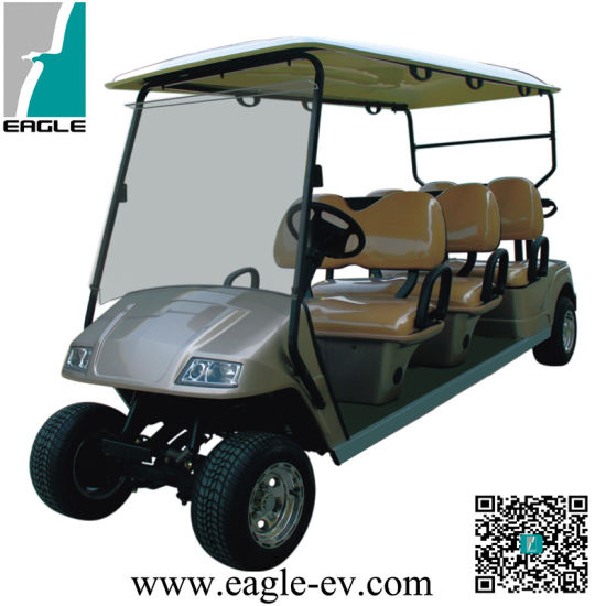 CE Approved 6 Seats Electric Golf Carts, Eg2068k pictures & photos