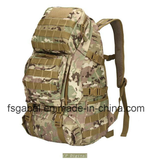 cd8f54d3d4f4 Camo Waterproof Hunting Backpack Military Surplus Tactical Combat Backpack