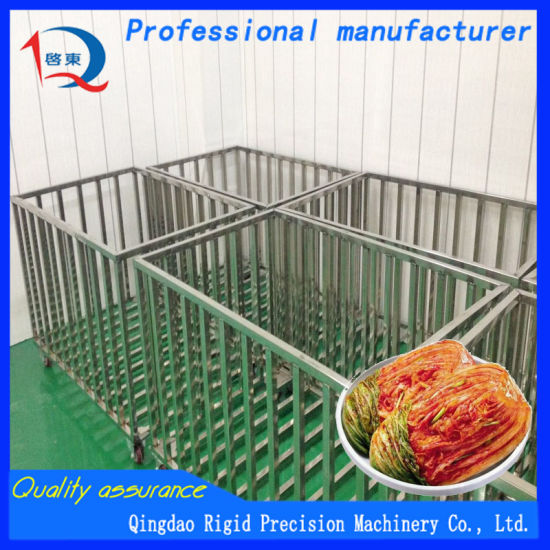 Food Machine Pickled Vegetable Drain Basket pictures & photos