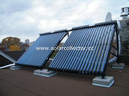Heat Pipe Solar Water Heater System