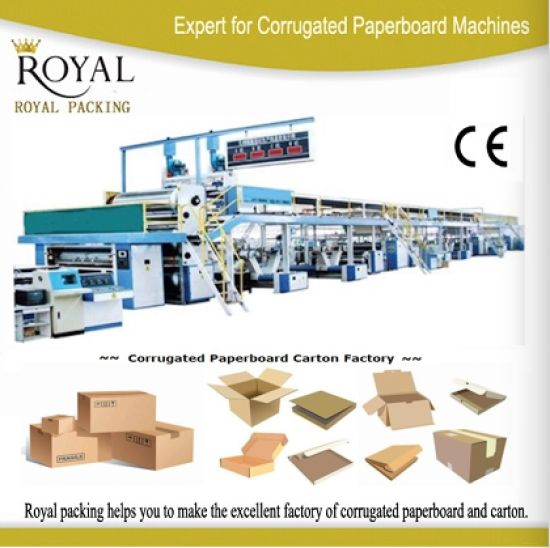 5-Layer Corrugated Paperboard Production Line pictures & photos