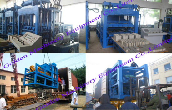 Qt 9-15 Concrete Cement Hollow Brick Block Making Machine pictures & photos