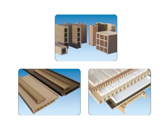 PVC and Wood Composite Damp Proof Environmental Door Panel Extruder pictures & photos