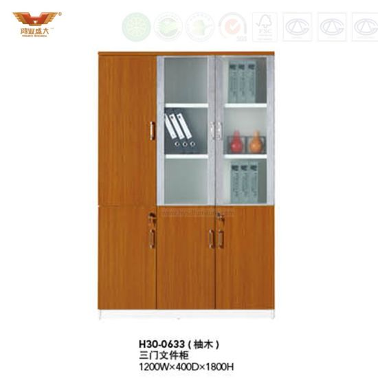 China Modern Office Furniture Filing Cabinet with Glass ...