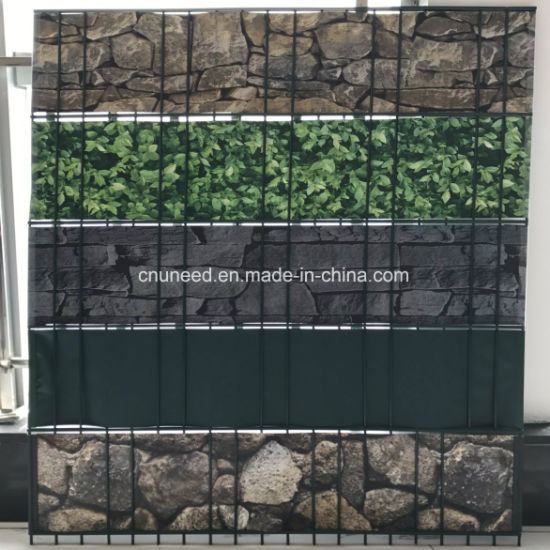 PVC Strip Screen Fence Balcony Privacy Garden Fence