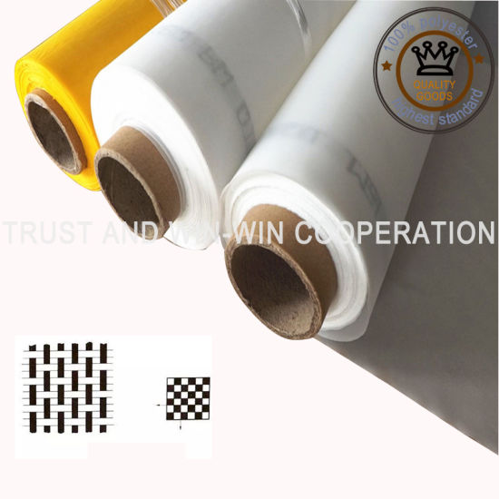 Higher Quality Monofilament Polyester Screen Printing Mesh/Fabric with MSDS Certification