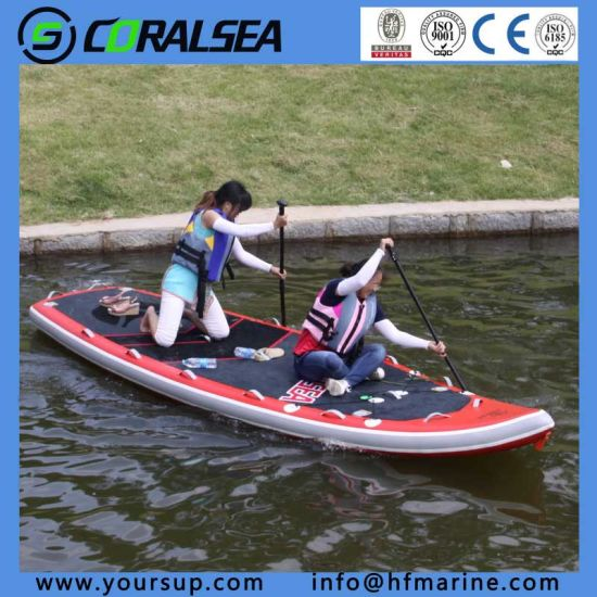 "PVC with EVA Surfboards Fishing Kaya for Sale (giant 15′4"") pictures & photos"