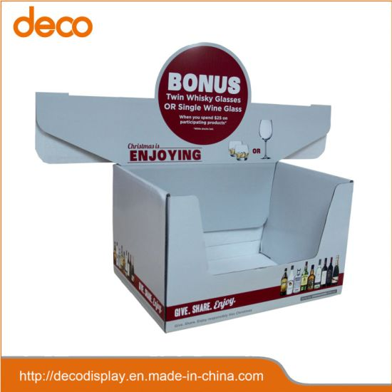 5cf902828 Customized Paper Display Box Cardboard Counter Display for Promotion  pictures & photos