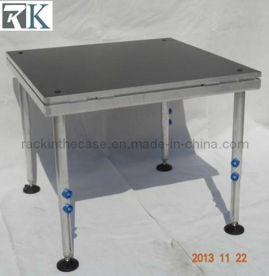 Portable Performance Mobile Stage with Adjustable Legs (RK-DC20111224-27) pictures & photos
