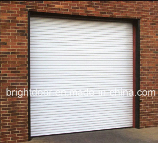 China Galvanized Garage Door Rolling Garage Door China Garage