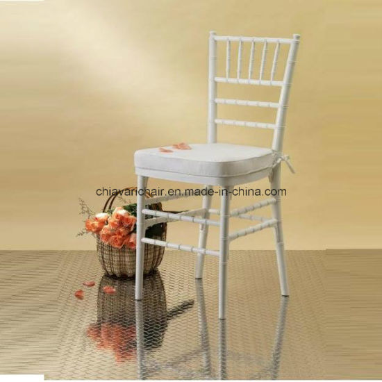 China Whole White Solid Wooden Wedding Chiavari Ballroom Chair