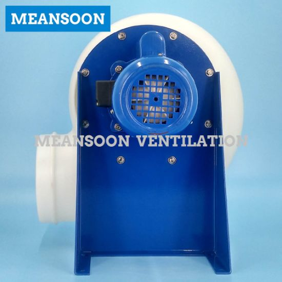 Circular 200 Fume Hood Plastic Centrifugal Fan pictures & photos