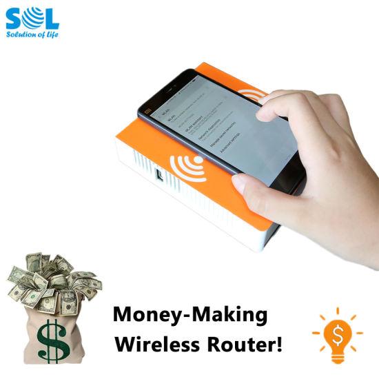 Sol Wireless WiFi RJ45 Wan Port VDSL Router