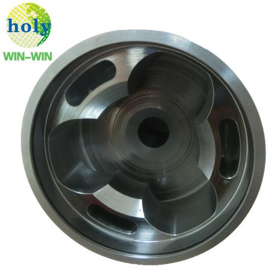 CNC Mechanical Black Oxide Machining Parts with Brushing Polishing