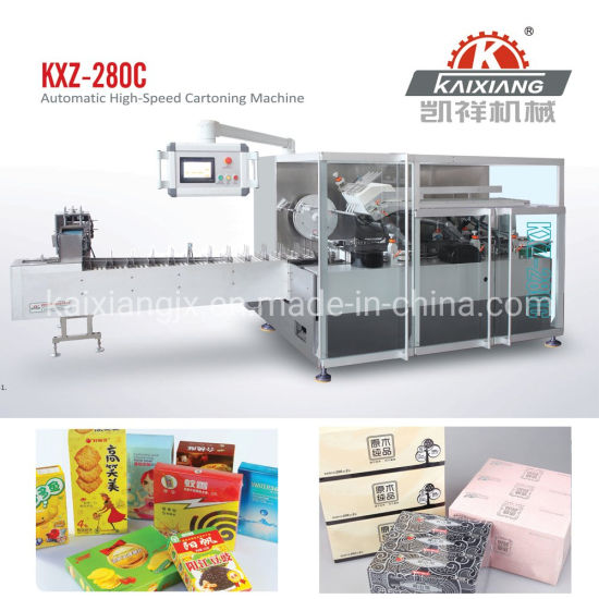 Automatic High Speed Paper Tissue Cartoning Machine
