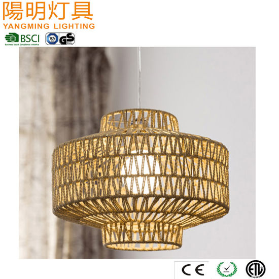 Indoor Decorative Rope Pendant Lighting