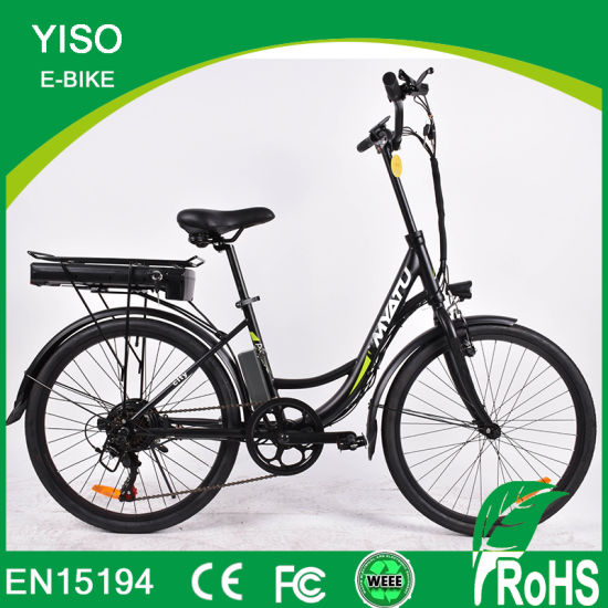 Chinese Factory Cheapest Price for Unisex Steel Electric Bicycles/Electric Bike/E-Bike