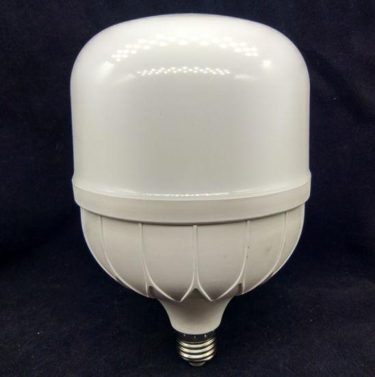 Distributor New High Power Aluminum 20W 30W 40W 50W SMD E27 B22 E40 T Shape LED Light Bulb Lamp for Energy Saving Lighting Manurfacturer