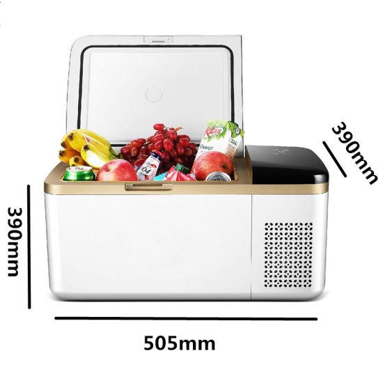 Digital Display Portable Mini Compressor Car Refrigerator