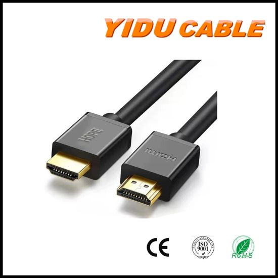 High Speed USB Computer HDMI Cable 4K Ethernet Wire 2.0V HDMI Cable 2.0 Support 2160p pictures & photos