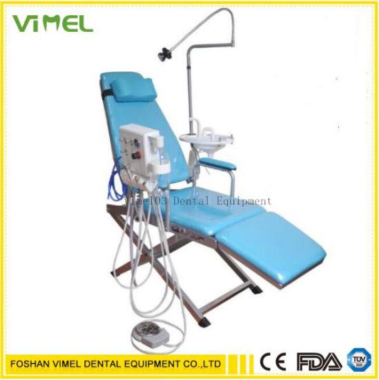 Dental Portable Folding Chair Mobile Unit+Turbine Unit