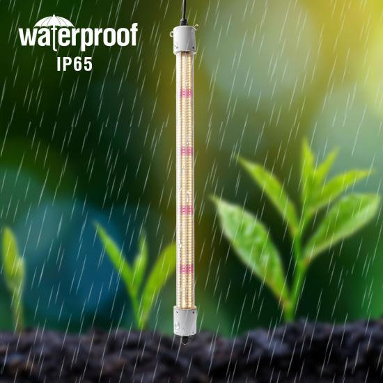 Waterproof Hydroponic Tomato Greenhouse Full Spectrum Led Tube Grow Light