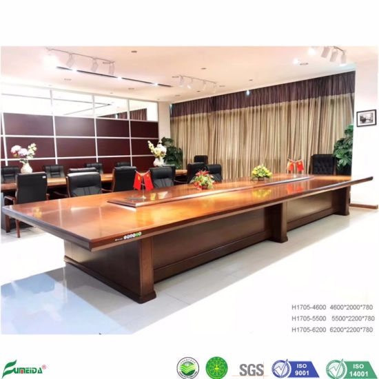 Round Made Office Wooden Conference Table Luxury H1705 China Conference Table Luxury Wooden Conference Table Made In China Com