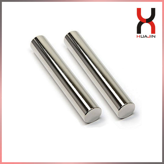 High Performance NdFeB Neodymium Magnet Rod