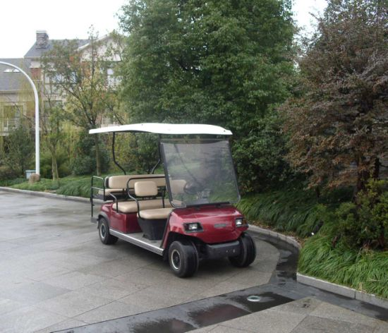 Hot Sale 6 Seaters Electric Golf Cart pictures & photos