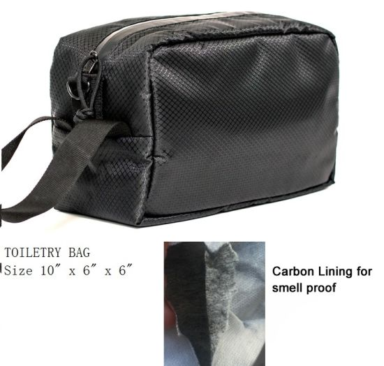 Absorbing Odor Bag with Carbon Fiber Lining
