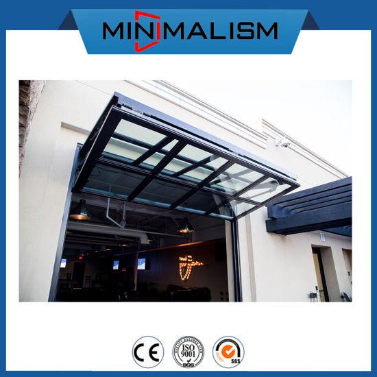 Double Glazing Aluminum Folding Window for Ventilation