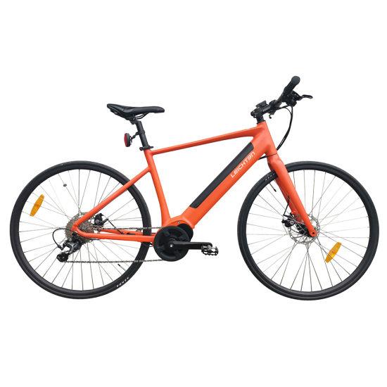 Leichten Ebike Wholesale Aluminum Alloy 700c MID Drive Race Electric E Road Bike with Hidden Battery