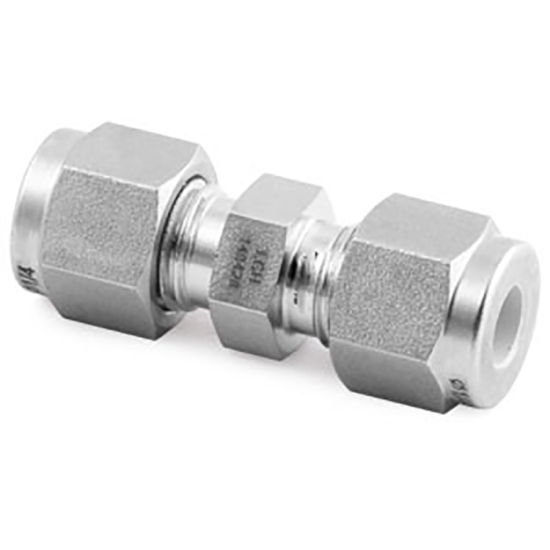 YC-LOK Ss Straight Union Double Ferrule Hydraulic Fittings