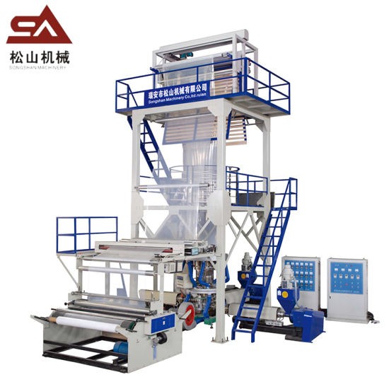 Multi-Layers Co-Extrusion Wenzhou Professional Supplier Direct High Output Big Size Plastic Film Extruder Blowing Machine