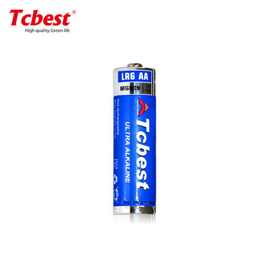 Tcbest Factory Price with CE/RoHS Certification 1.5V Lr6 Super Alkaline Battery AA AAA Lr6 Lr03 Lr14 12V 23A 27A for Toys
